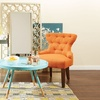 Avenue Six Hourglass Accent Chair