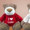 "47% Off Custom ""I Love You"" Embroidered Bear from 800Bear.com"