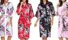 Robe de chambre Kimono en soie