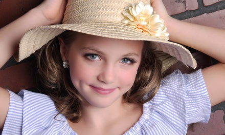 Photo Session for One or Up to Four Children 10 Years Old and Under at Glamour Shots (Up to 94% Off)