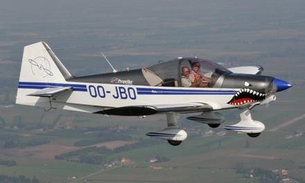 Voler dans un avion ou voler comme un acrobate aérien dans un R2160i avec Propeller
