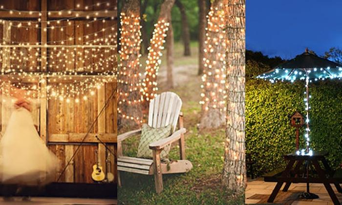 Solar Led Fairy Lights Groupon Goods