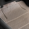 Anti-Slip All-Weather Checkered Car Floor Mats (4-Pack)