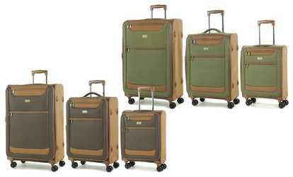 Shop Groupon Boston Three-Piece Suitcase Set 2f1a0a7b94