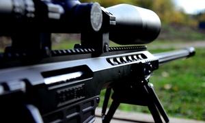 Akademia Obrony Saggita: Wejście na strzelnicę, pakiet 20 szt. amunicji i broń do wyboru za 99,99 zł i więcej w Akademii Obrony Saggita (-50%)