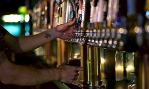 Tap and Barrel:  $18 for a Craft Beer Flight for Two with a Take Home Growler and Two Souvenir Pint Glasses ($32 Value)