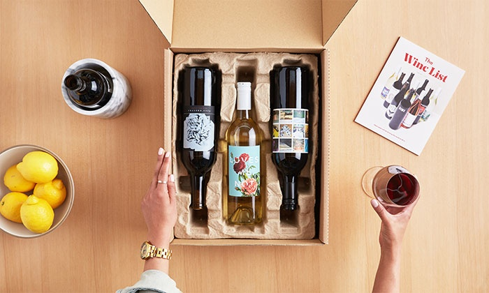 Winc: Four Bottles of Wine Customized to Your Palate with Shipping from Winc (56% Off)