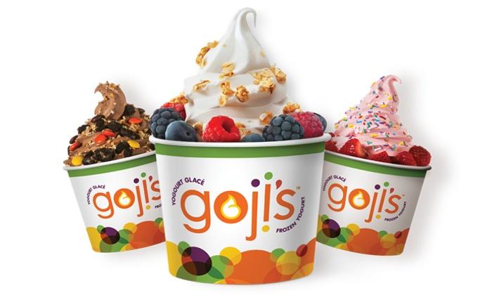 Goji's Frozen Yogurt-Bedford - Bedford: C$7 for C$12 Worth of Frozen Yogurt at Goji's Frozen Yogurt