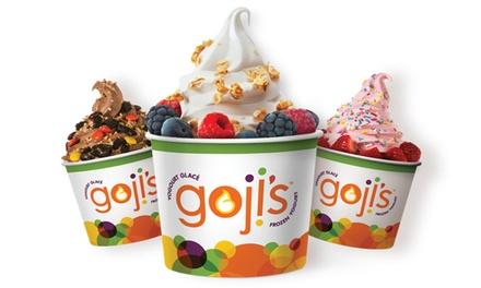 $7 for $12 Worth of Frozen Yogurt at Goji's Frozen Yogurt