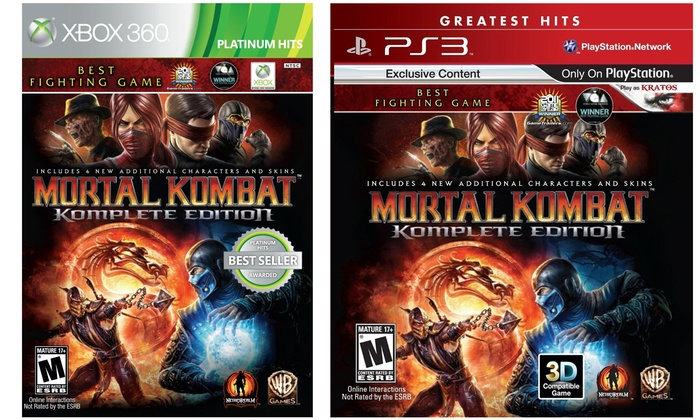 Mortal Kombat Komplete Edition Groupon Goods
