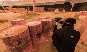 Al Forsan International Sports Resort: Game of Paintball with Up to 400 Paintballs for Up to Four at Al Forsan International Sports Resort (Up to 54% Off)
