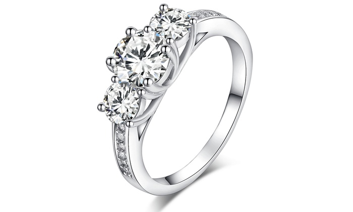 Sterling Silver Trilogy Ring for £14.99