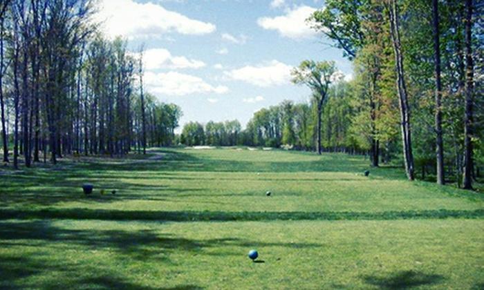 Hyatt Hills Golf Complex - Clark: 9- or 18-Hole Round of Golf for Two or Four at Hyatt Hills Golf Complex (Up to 59% Off)