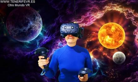 Experiencia de realidad virtual de 30 o 60 minutos para 1 o 2 personas desde 5,95 € en Otro Mundo VR