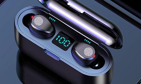 1 o 2 auriculares inalámbricos con batería externa
