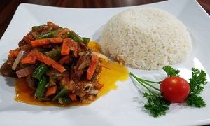 Spicy's Kitchen: West African Cuisine for Two or Four at Spicy's Kitchen (40% Off)