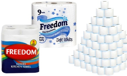 Freedom Kitchen and Toilet Rolls
