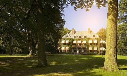 Vught: standaard of deluxe kamer voor twee incl. ontbijt en naar keuze driegangendiner op Landgoed Huize Bergen