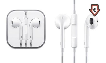 Écouteurs Apple (Jack 3.5 mm),écouteur intra-auriculaire avec télécommande et micro intégré dès 12,98€ (jusqu'à - 67%)