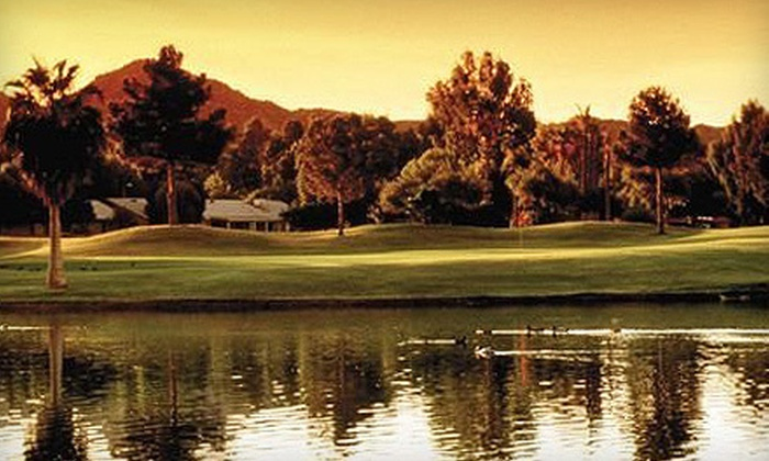 Ahwatukee Lakes Golf Club  - Ahwatukee Foothills: Golf with Cart, Golf Balls, and Beers for Two or Four at Ahwatukee Lakes Golf Club (Up to 73% Off)