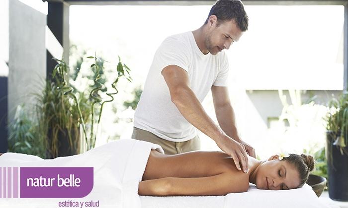 Natur Belle - Più sedi: Uno o 2 massaggi o trattamenti viso e corpo a scelta da Natur Belle (sconto fino a 75%). Valido in 8 sedi