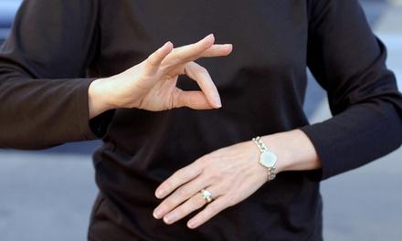 Curso online de lengua de signos de nivel A1 y/o A2 en Fundación Grupo Hada (con 90% de descuento)