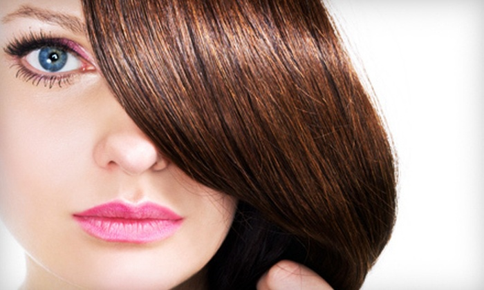 Just Glamorous Salon & Boutique - Clifton Park: Haircare at Just Glamorous Salon & Boutique in Clifton Park (Up to 68% Off). Three Options Available.