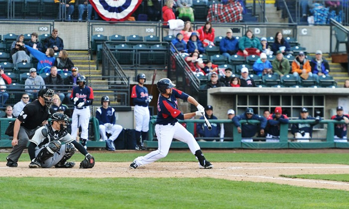 Tacoma Rainiers - Cheney Stadium: Tacoma Rainiers Game Package for Two at Cheney Stadium on April 17, 18, or 19 (57% Off)