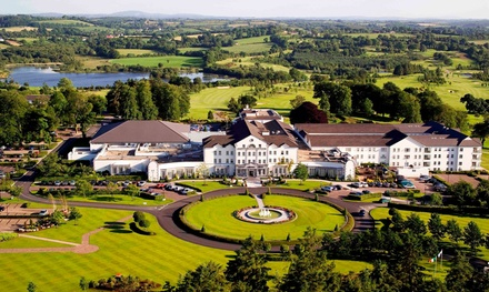 Co Cavan: 2 Nights for Two with Breakfast, Golf, €10 Golf, €15 Spa Credit and Leisure Access at 4* Slieve Russell Hotel