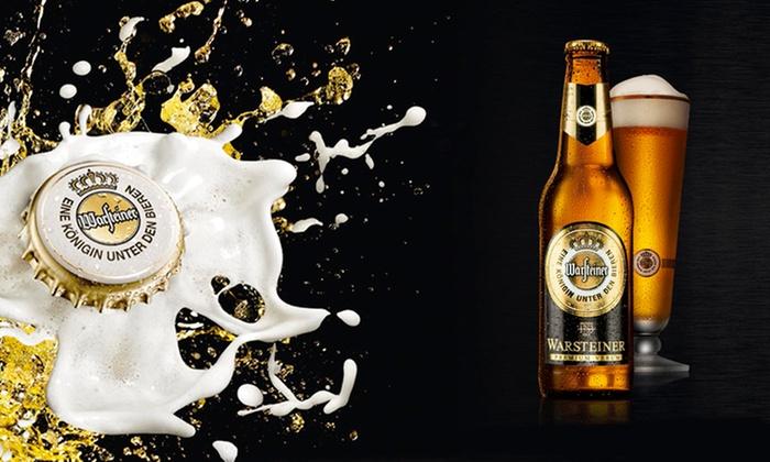 Warsteiner - Múltiples sucursales: Desde $157 en vez de $225 por cerveza Warsteiner en formato a elección con retiro en sucursal