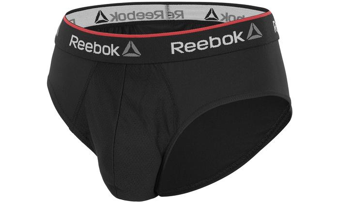 Reebok 3er Pack oder 6er Pack Slip oder Boxershorts für Herren aus Mikrofaser oder Baumwolle in der Farbe nach Wahl