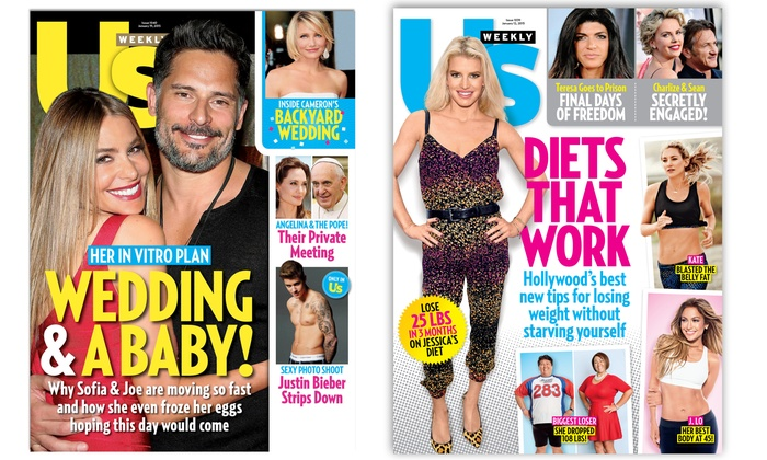 """Us Weekly"": $34 for a One-Year, 52-Issue Subscription to ""Us Weekly"" ($69.95 Value)"