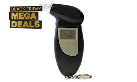 Professional Digital Alcohol Breathalyser: One $12.95 or Two $21.95 Don't Pay up to $298