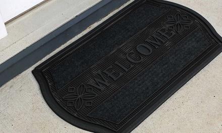 """""""Welcome"""" Outdoor Doormat 18"""" x 30"""""""