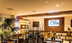 Manicook: Buffet asiatique à volonté pour 2 ou 4 personnes le soir dès 29,90 € au restaurant Manicook
