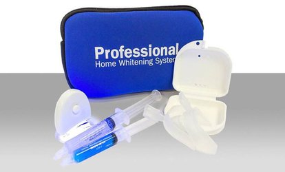 $25 for <strong>Teeth <strong>Whitening</strong></strong> Kit with Lifetime <strong>Whitening</strong> Refills from Pro Smile <strong>Teeth <strong>Whitening</strong></strong> ($199 Value)