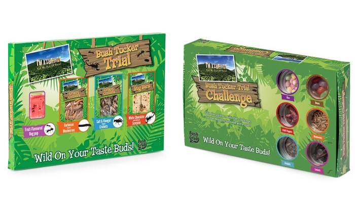 I'm a Celebrity Get Me Out of Here Real Insect Bush Grub for £12.98