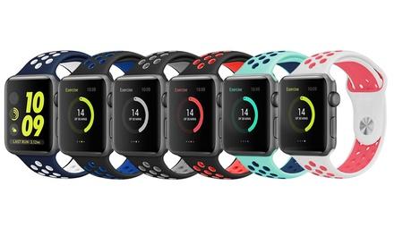 Trendiges Armband für die Apple Watch in der Größe und Farbe nach Wahl (Koln)