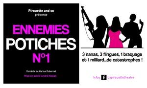 """SpotLight: 2 places pour la comédie ''D'un sexe à l'autre'' ou ''Ennemies potiches N°1"""", date au choix à 22 € au SpotLight de Lille"""