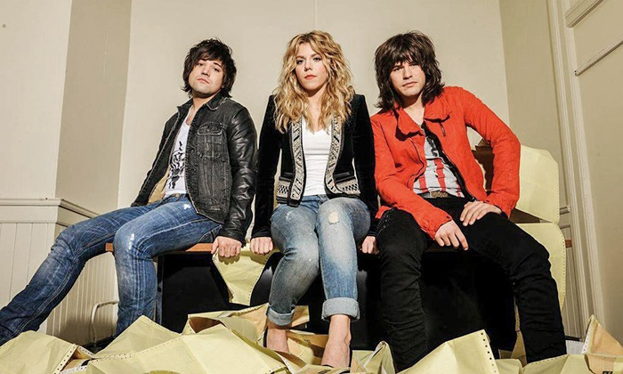 The Band Perry: We Are Pioneers World Tour 2014 - First Merit Bank Event Park across from The Dow Event Center: The Band Perry: We Are Pioneers World Tour 2014 at Dow Event Center on February 23 (Up to $49.25 Value)