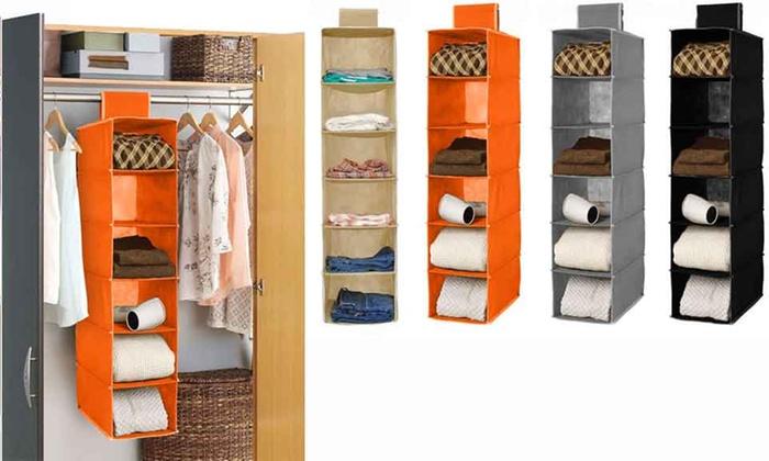 Organizzatore salvaspazio armadio groupon goods for Groupon armadio