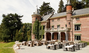 Kasteel Breivelde: Verfijnd driegangenmenu voor 1, 2 of 4 personen vanaf € 24,99 bij Kasteel Breivelde in Zottegem