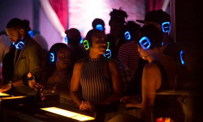Urban Fêtes - Multiple Locations: Silent Party for One, Two, or Four with Headphone Rental from Urban Fêtes (Up to 50% Off)
