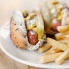50% Off Hot Dogs and Fries at The Hot Grill