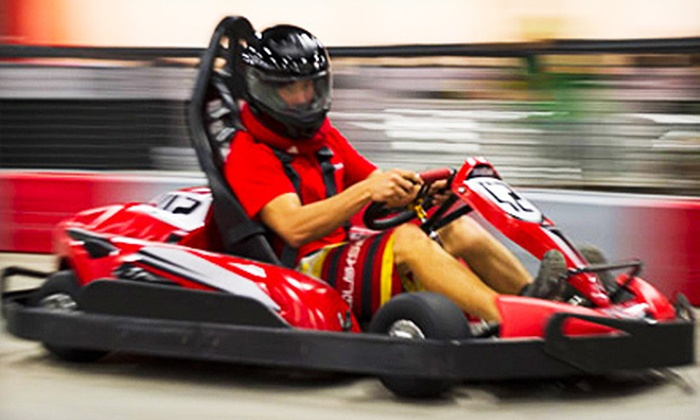 Podium Raceway Hawaii - Kapolei: $25 for Two Adult Go-Kart Races for One Person at Podium Raceway Hawaii (Up to $50 Value)