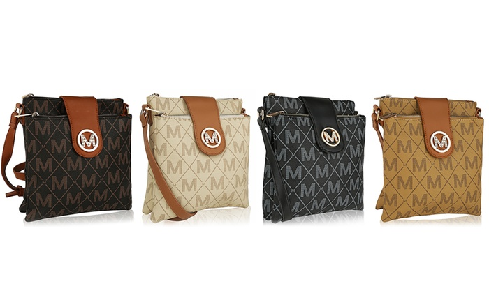 MKF Collection Logo Crossbody Bags