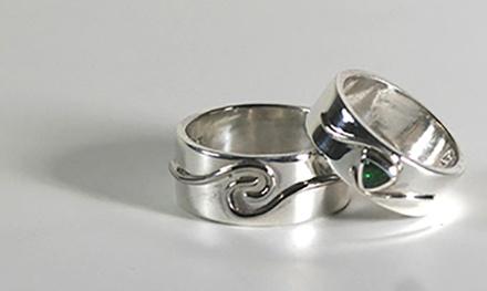 Favoriete Workshops Zilveren ring of hanger maken bij Eventsbakery in #QA86