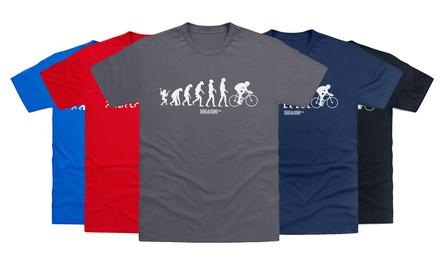Camiseta de ciclo de evolución del hombre por 11,99 €