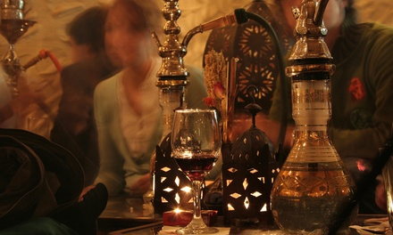 Hookah and Tea for Two or Four at Habibi's Lounge (Up to 52% Off). Four Options Available.