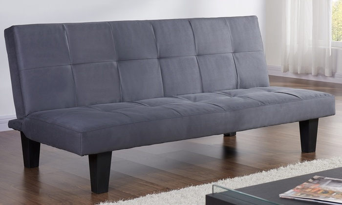 Suede Micro Fabric Sofa Bed